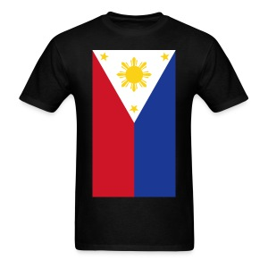 Philippine Flag Mens Shirt By AiReal Apparel - Men's T-Shirt