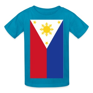 Philippine Flag Kids Shirt By AiReal Apparel - Kids' T-Shirt