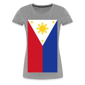 Philippine Flag Womens Shirt By AiReal Apparel - Women's Premium T-Shirt