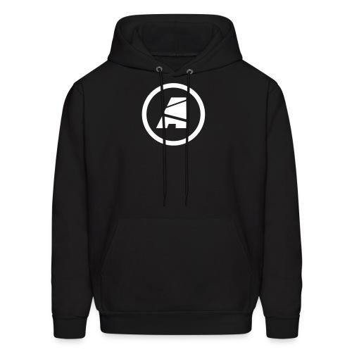 Men's Standard Hoodie - Logo (White) - Men's Hoodie