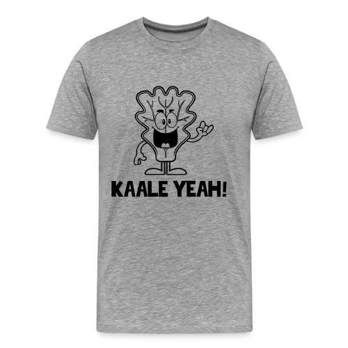 KALE YEAH Unisex Shirt - Men's Premium T-Shirt