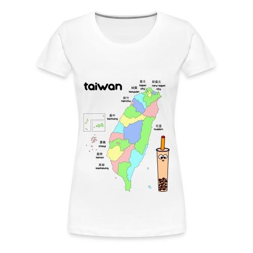 Taiwan Map - Women's Tee - Women's Premium T-Shirt
