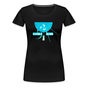 Gooble Bomb - Women's Premium T-Shirt