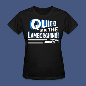 Lamborghini!!! - Women's Regular - Women's T-Shirt