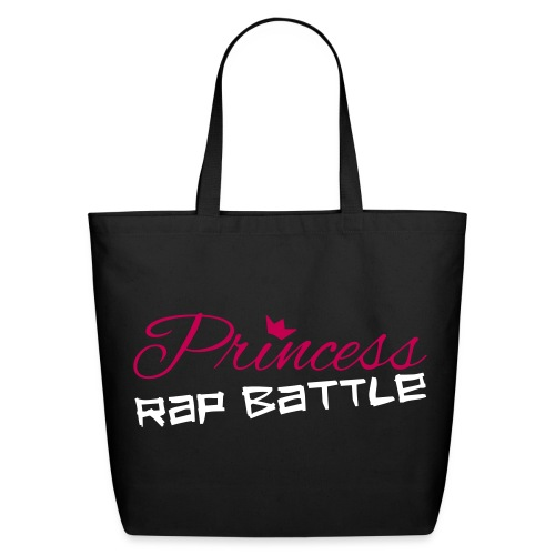 Princess Rap Battle Logo Canvas Bag - Eco-Friendly Cotton Tote