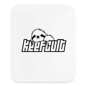 keefcult sloth mousepad vertical - Mouse pad Vertical