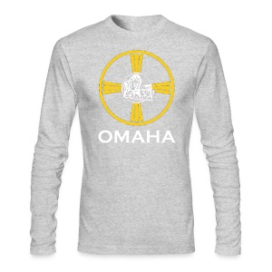 Omaha Long Sleeve - Men's Long Sleeve T-Shirt by Next Level