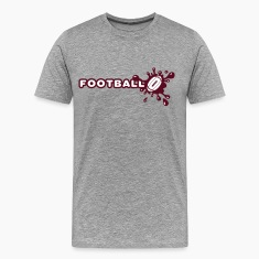 Football Splash T-Shirts