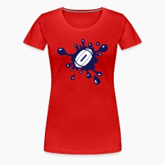 Football Ball Splash Women's T-Shirts