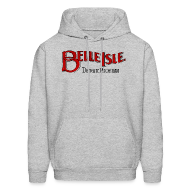 Hoodies ~ Men's Hooded Sweatshirt ~ Olde Belle Isle Detroit