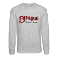 Long Sleeve Shirts ~ Men's Crewneck Sweatshirt ~ Olde Belle Isle Detroit