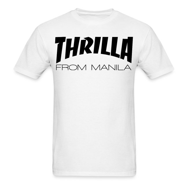 Pacquiao THRILLA FROM MANILA Mens Shirt by AiReal Apparel