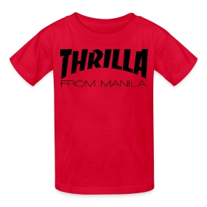 Pacquiao THRILLA FROM MANILA Kids Shirt by AiReal Apparel - Kids' T-Shirt