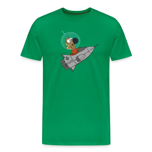 Rantdog Rocket Man - Men's Premium T-Shirt