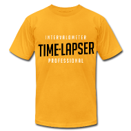 T-Shirts ~ Men's T-Shirt by American Apparel ~ Time-lapser, from Mediarena.com