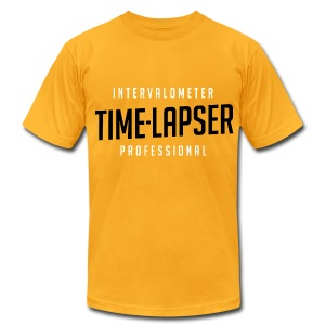 Time-lapser, from Mediarena.com - Men's T-Shirt by American Apparel
