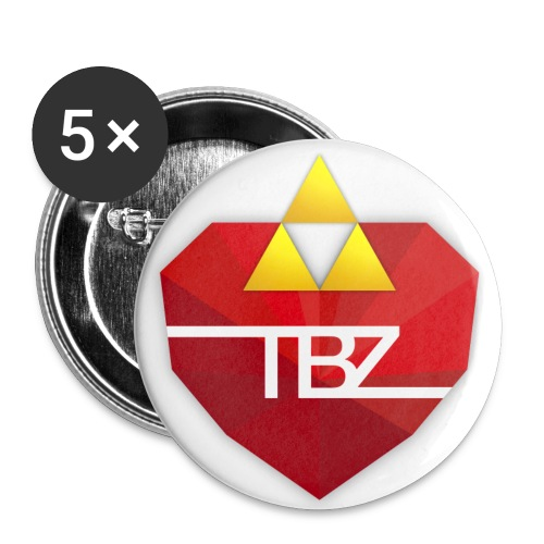 TBZ Small Buttons (5) - Buttons small 1'' (5-pack)