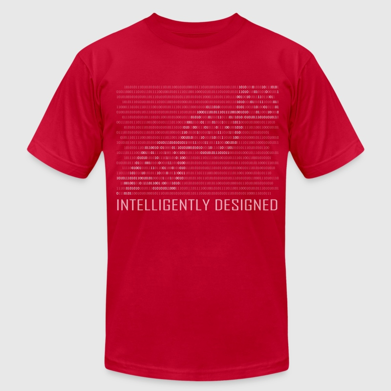 Intelligently Designed Binary Tee - Men's T-Shirt by American Apparel