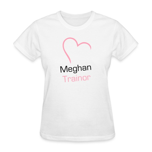 Heart Meghan Trainor - Women's T-Shirt