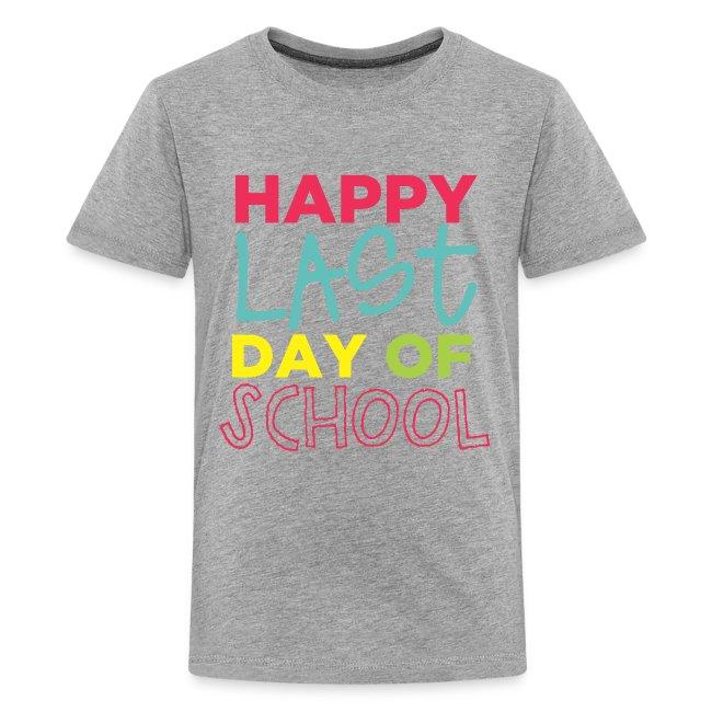 Double Sided Happy Last Day of School/Peace Love Summer Break
