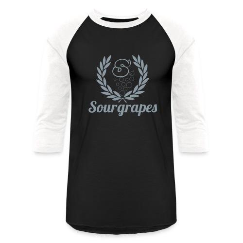 METALLIC SILVER - Baseball T-Shirt