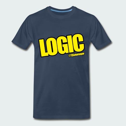 Mens Logic Shirt- PLUS SIZE TEE UP TO 5X - Men's Premium T-Shirt