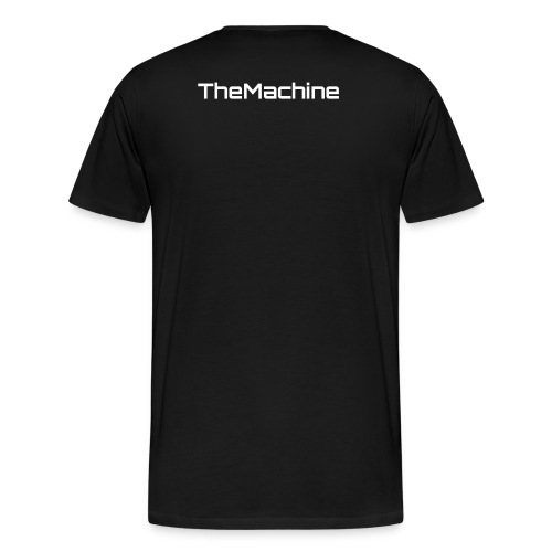 Mens Banner Shirt with TheMachine on back - Men's Premium T-Shirt