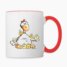 Happy Chicken Mugs & Drinkware