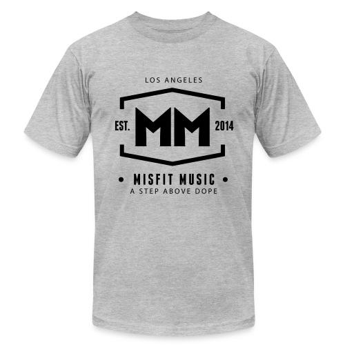 Misfit Music Shirt Grey - Men's Fine Jersey T-Shirt