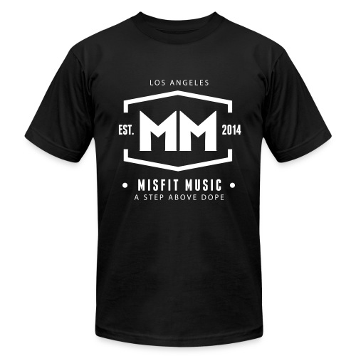 Misfit Music Shirt Black - Men's Fine Jersey T-Shirt
