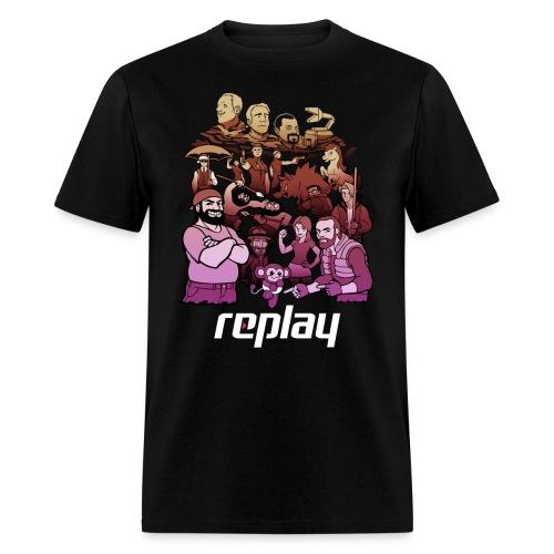 Mount Replay - Men's T-Shirt