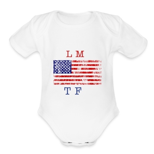 LMTF ONE PIECE - Organic Short Sleeve Baby Bodysuit