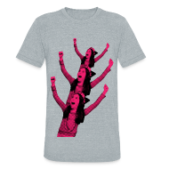 T-Shirts ~ Unisex Tri-Blend T-Shirt ~ Crazy Tree - T-Shirt