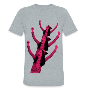 Crazy Tree - T-Shirt - Unisex Tri-Blend T-Shirt by American Apparel