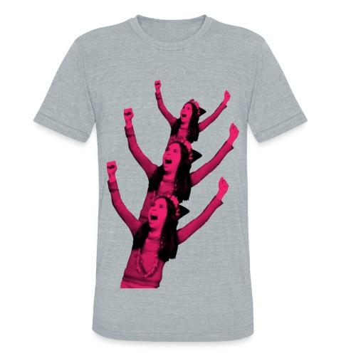 Crazy Tree - T-Shirt - Unisex Tri-Blend T-Shirt