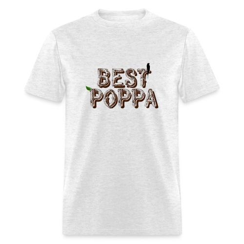 Best Poppa - Men's T-Shirt