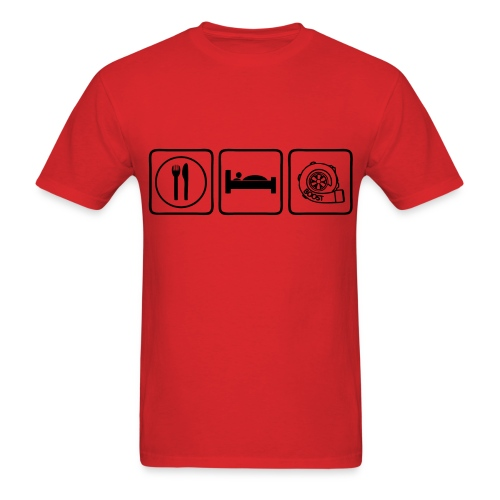 Eat Sleep Boost - Men's T-Shirt