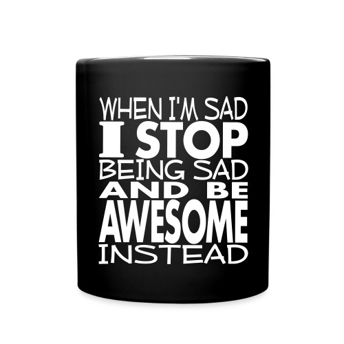 Be Awesome Instead - Full Color Mug
