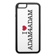 Phone & Tablet Cases ~ iPhone 6/6s Rubber Case ~ iPhone 6 Case I Love Adam4Adam