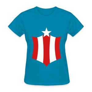 Captain America For Girls - T-shirt pour femmes