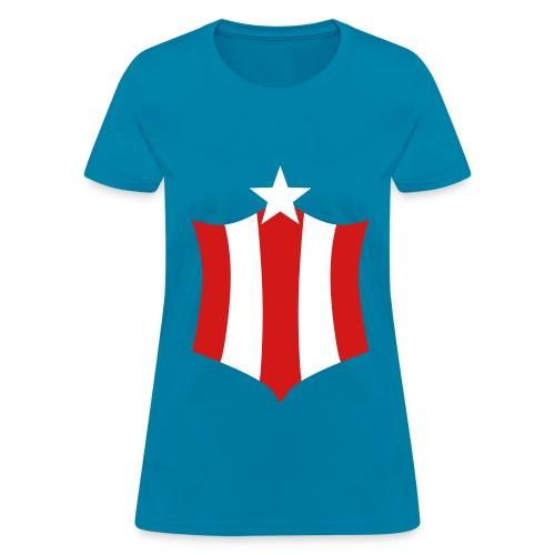 Captain America For Girls - Women's T-Shirt
