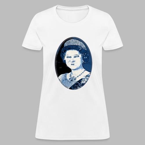 Go Queen go!  - Women's T-Shirt