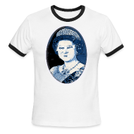 T-Shirts ~ Men's Ringer T-Shirt ~ Go Queen go!