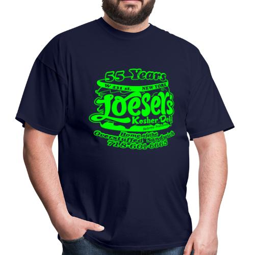 Loeser's Special Edition Tee (Neon Green) - Men's T-Shirt