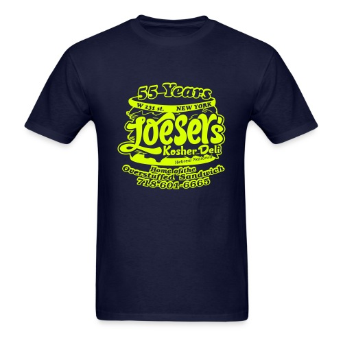 Loeser's Special Edition Tee (Neon Yellow) - Men's T-Shirt