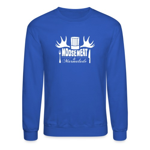 M&M Men's Crewneck ROYAL BLUE - Crewneck Sweatshirt