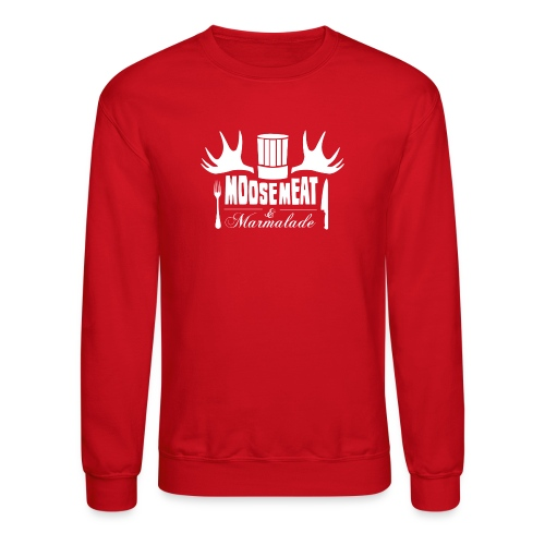 M&M Men's Crewneck RED - Crewneck Sweatshirt