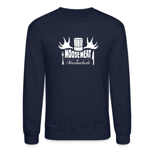 M&M Men's Crewneck NAVY - Crewneck Sweatshirt