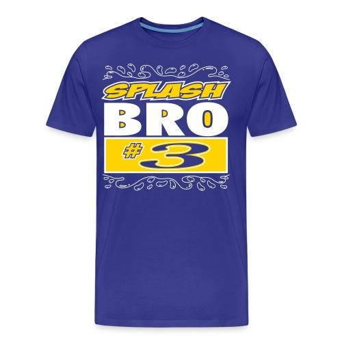 Splash Brothers Shirt- Splash Bro #3 - Men's Premium T-Shirt