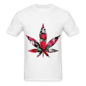 Floral Weed  Tee - Men's T-Shirt